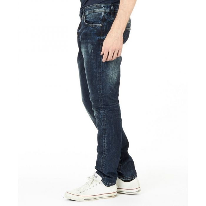 ONLY & SONS GRANATOWE JEANSY VINTAGE