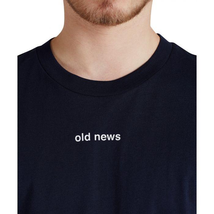 "JACK & JONES KOSZULKA STATE ""OLD NEWS"""