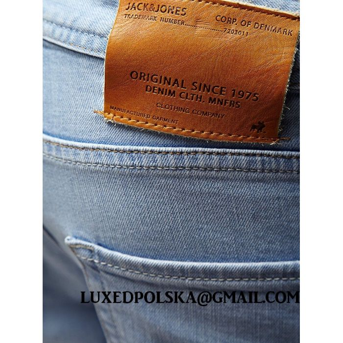 Jack & Jones Błękitne Jeansy Ben Originals 314