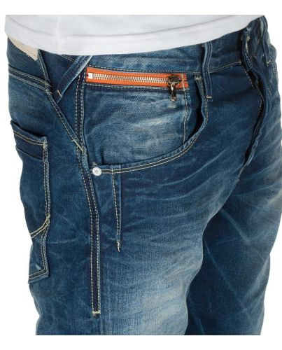 Jack & Jones Niebieskie Jeansy Nick Lab Dirty Age