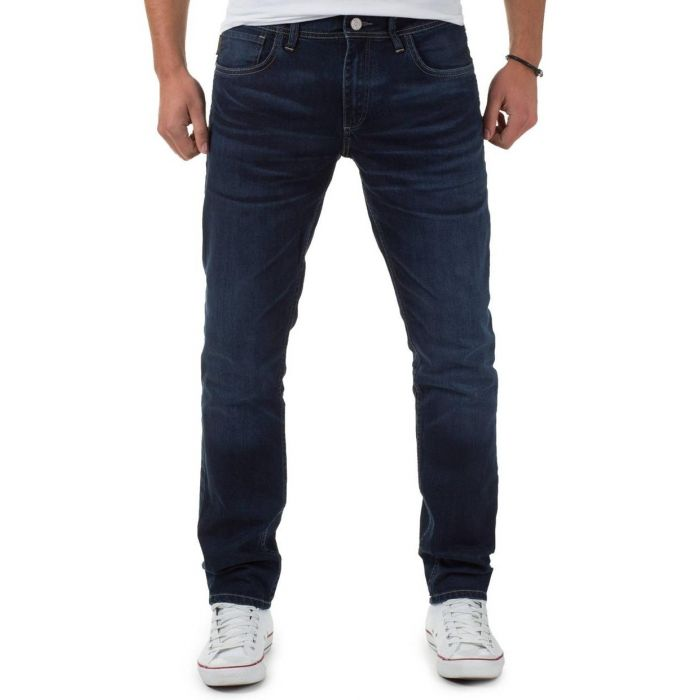 Jack & Jones Granatowe Jeansy Ben Originals SC776