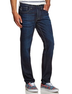 JACK & JONES GRANATOWE JEANSY TIM 533