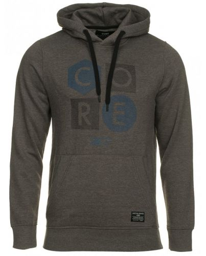 Jack & Jones Szara Bluza Levy Sweat Hood
