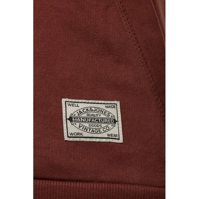Jack & Jones Brązowa Bluza Newport Cinnamon