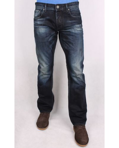 JACK & JONES GRANATOWE JEANSY MIKE 828
