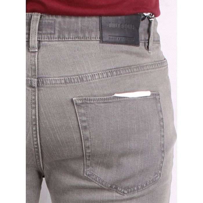 ONLY & SONS SZARE STYLOWE JEANSY RURKI 32/32