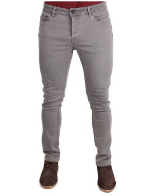 ONLY & SONS SZARE JEANSY RURKI SLIM 32/32