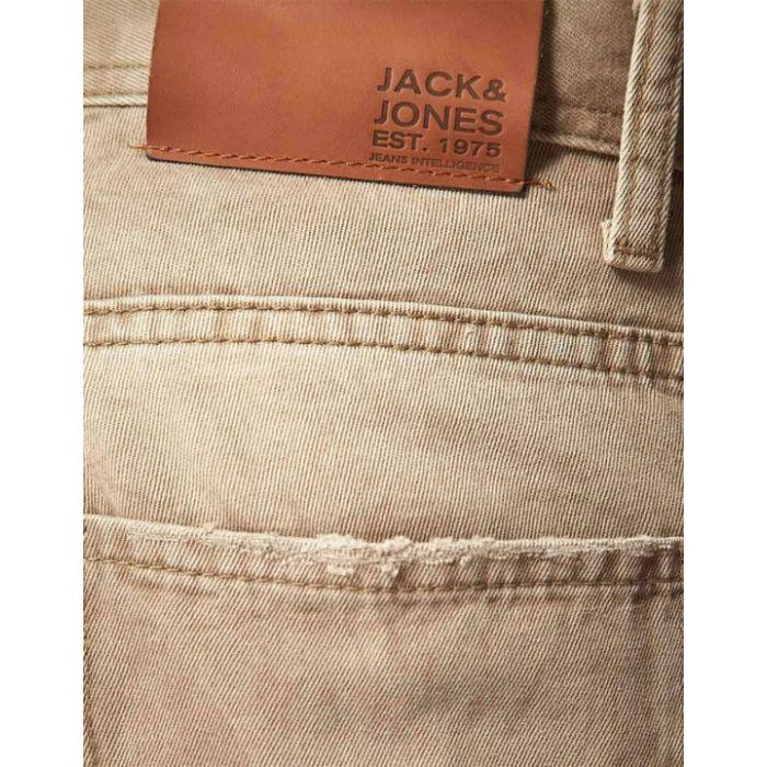 Jack & Jones Beżowe Jeansy Tim Original