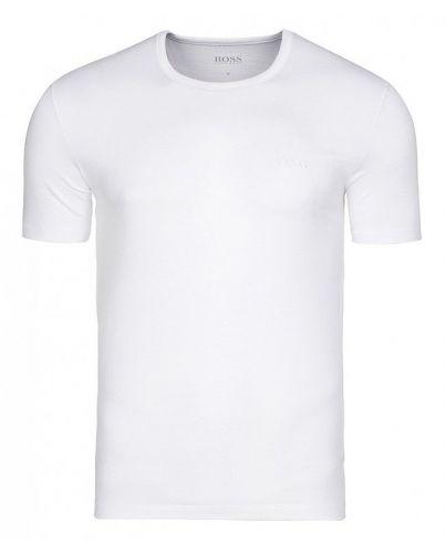 HUGO BOSS Biała Koszulka O-neck