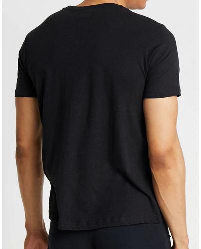 KAPPA Czarna Koszulka O-neck Klasyczna