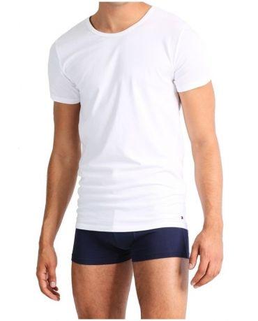 Tommy Hilfiger Biała Koszulka O-neck