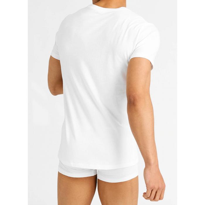 POLO RALPH LAUREN Biała Koszulka V-neck Klasyczna