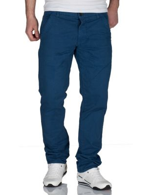 Jack & Jones Chinosy Niebieskie Spodnie Męskie