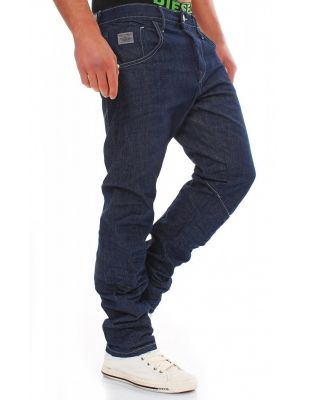 JACK & JONES GRANATOWE JEANSY STAN TWISTED