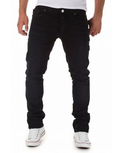 Jack & Jones Czarne Jeansy Ben Original 745