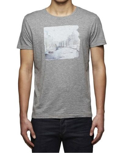 JACK &  JONES SZARA KOSZULKA WAKE UP