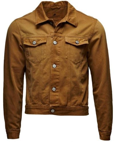 JACK & JONES BRĄZOWA KURTKA JEAN JACKET