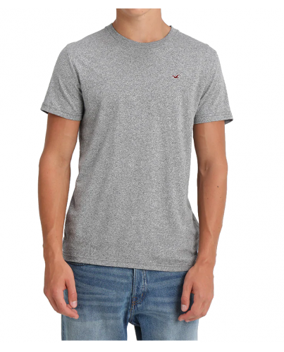 HOLLISTER California Grey Tshirt Szary O-Neck
