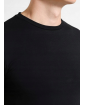 POLO RALPH LAUREN Czarna Koszulka O-neck Klasyczna