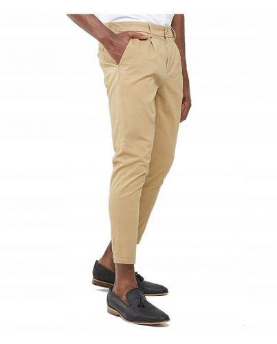 Only&Sons Szerokie 7/8 Spodnie Obniżone Beżowe