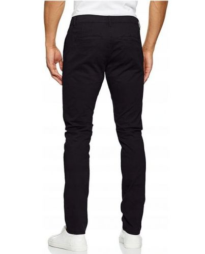 Only&Sons Granatowe Chinosy Slim Casual