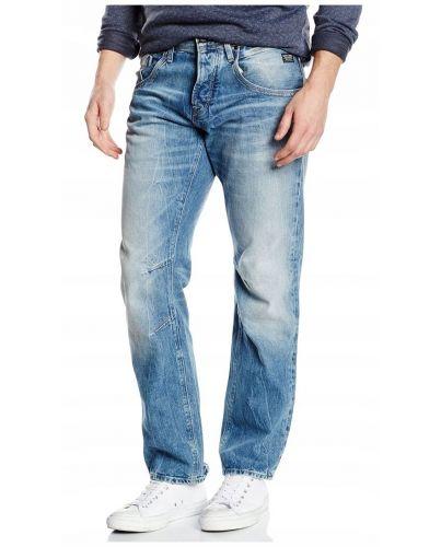 Jack&Jones Niebieskie Jeansy Luźne Anti Fit Męskie