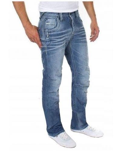 Jack&Jones Niebieskie Klasyczne Jeansy Slim Fit