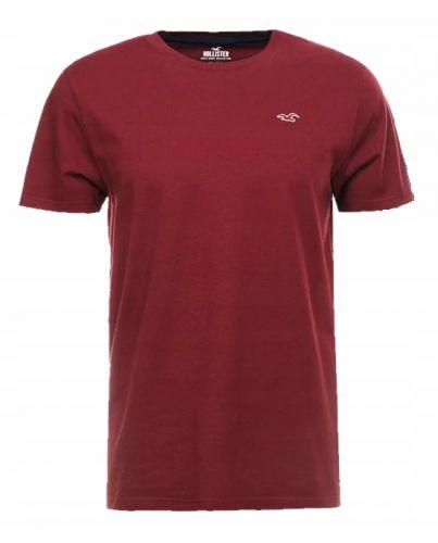 Hollister Dark Burgundy T-Shirt Classic O-Neck