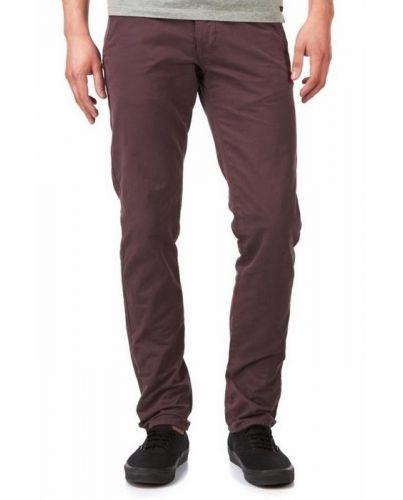 Jack&Jones Chinosy Śliwkowe Spodnie Męskie